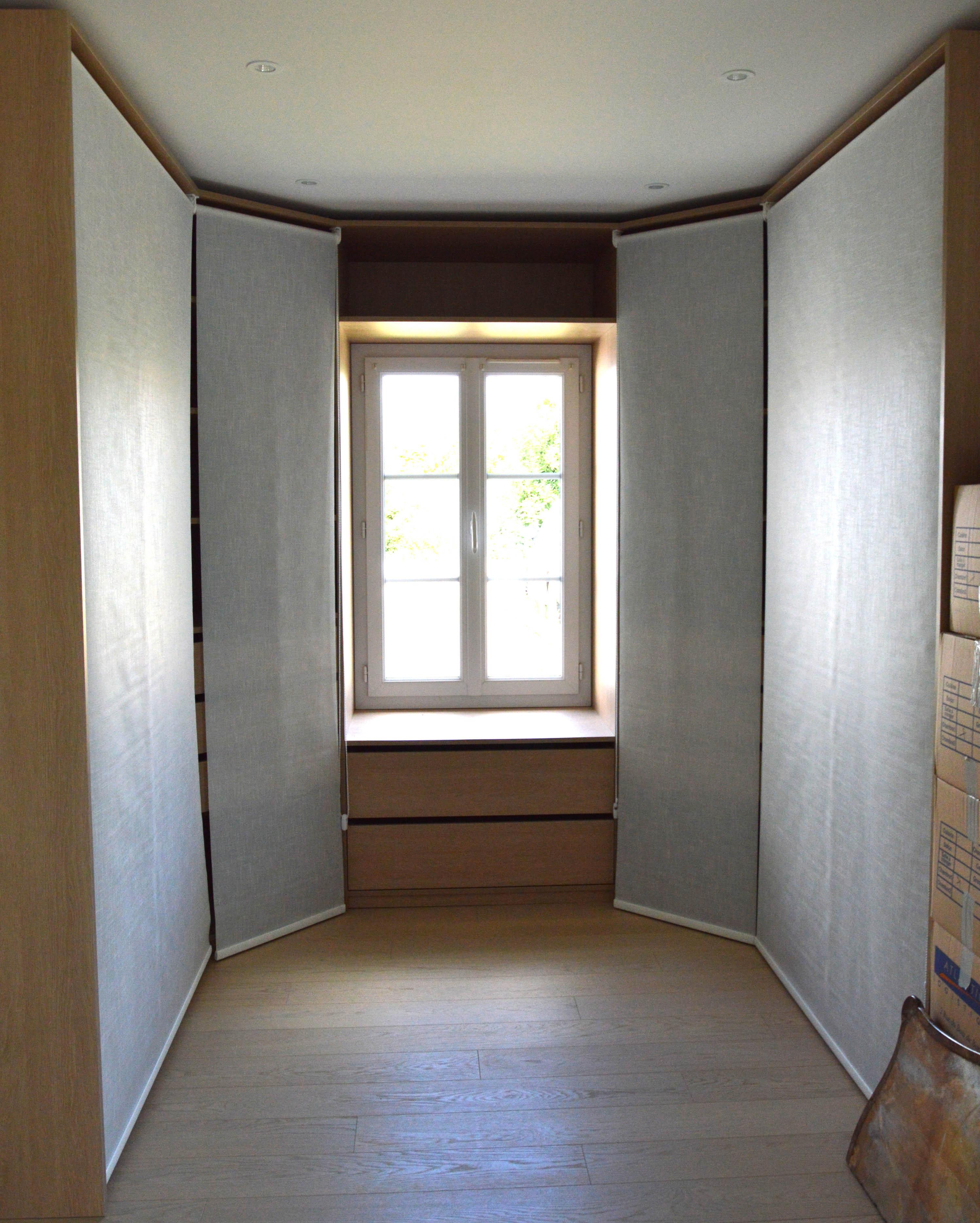 beautiful creation d un dressing contemporary. Black Bedroom Furniture Sets. Home Design Ideas