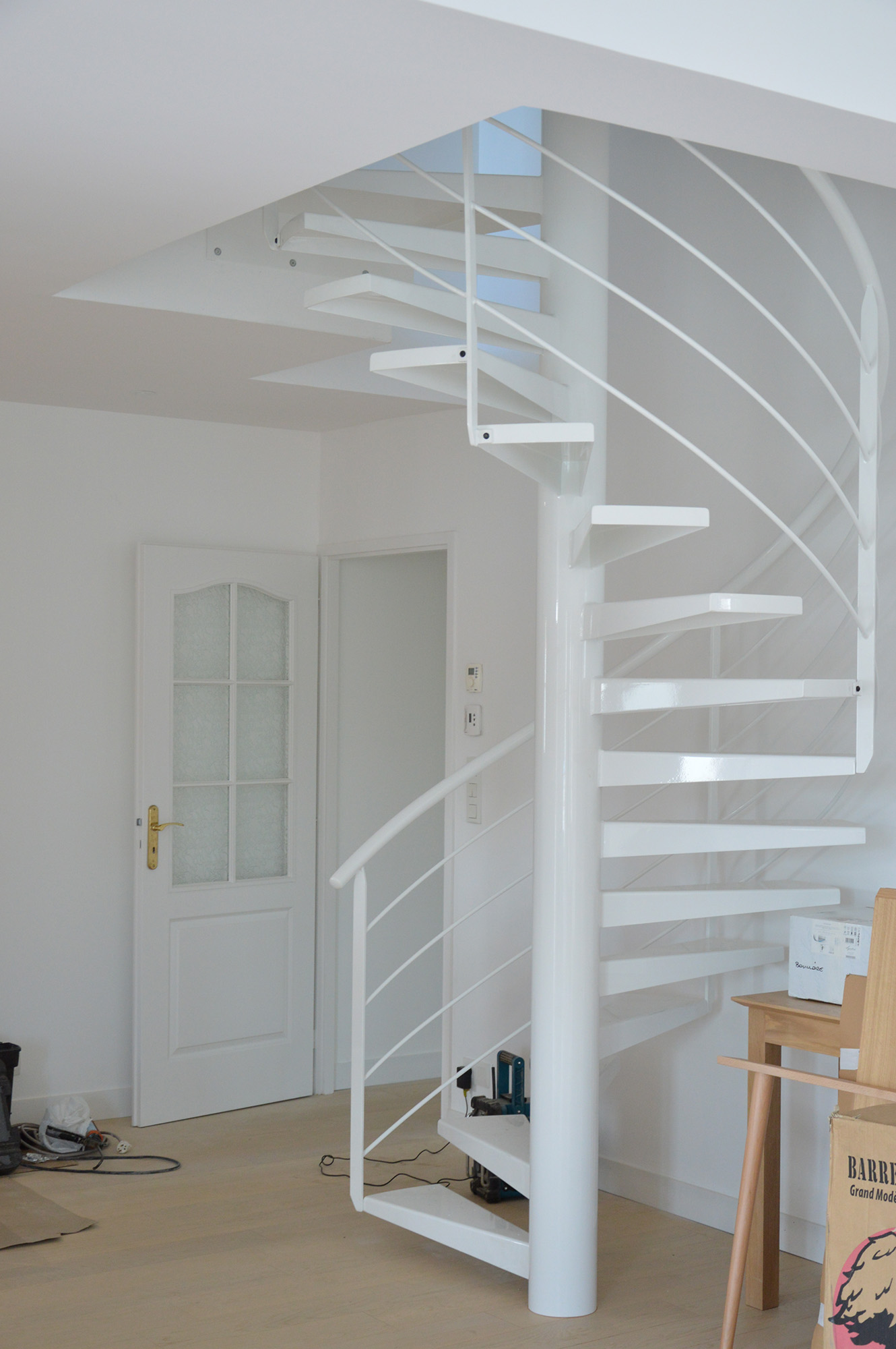 Photo - Chantier escalier - Remaud Menuiserie1